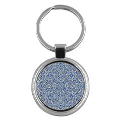 Geometric Luxury Ornate Key Chains (round)  by dflcprints