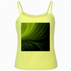 Colors Yellow Spaghetti Tank by ValentinaDesign