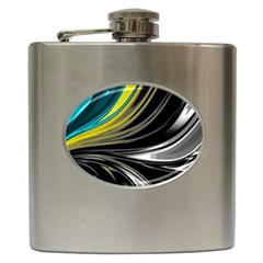 Colors Hip Flask (6 Oz) by ValentinaDesign