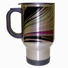 Colors Travel Mug (silver Gray) by ValentinaDesign