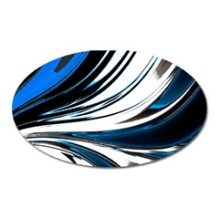 Colors Oval Magnet