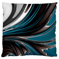 Colors Large Cushion Case (two Sides) by ValentinaDesign