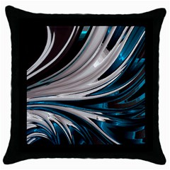 Colors Throw Pillow Case (black) by ValentinaDesign