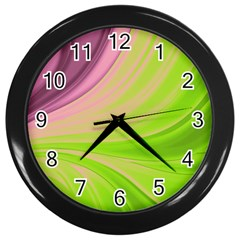 Colors Wall Clocks (black)
