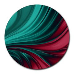 Colors Round Mousepads by ValentinaDesign