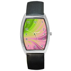 Colors Barrel Style Metal Watch by ValentinaDesign