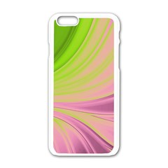Colors Apple Iphone 6/6s White Enamel Case by ValentinaDesign