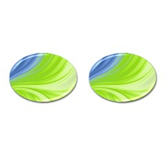 Colors Cufflinks (oval) by ValentinaDesign