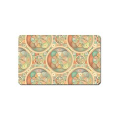 Complex Geometric Pattern Magnet (name Card) by linceazul