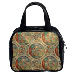 Complex Geometric Pattern Classic Handbags (2 Sides) by linceazul