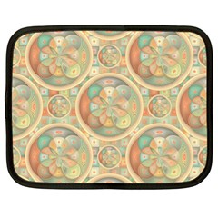 Complex Geometric Pattern Netbook Case (xl)  by linceazul