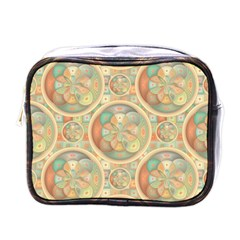 Complex Geometric Pattern Mini Toiletries Bags by linceazul