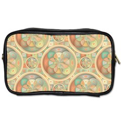 Complex Geometric Pattern Toiletries Bags by linceazul