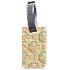 Complex Geometric Pattern Luggage Tags (one Side)  by linceazul