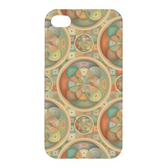 Complex Geometric Pattern Apple Iphone 4/4s Premium Hardshell Case by linceazul