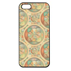 Complex Geometric Pattern Apple Iphone 5 Seamless Case (black) by linceazul