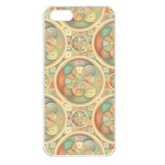 Complex Geometric Pattern Apple Iphone 5 Seamless Case (white) by linceazul