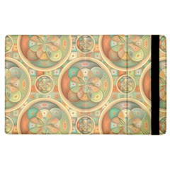 Complex Geometric Pattern Apple Ipad 3/4 Flip Case by linceazul