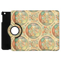 Complex Geometric Pattern Apple Ipad Mini Flip 360 Case by linceazul