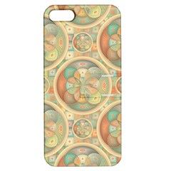 Complex Geometric Pattern Apple Iphone 5 Hardshell Case With Stand by linceazul
