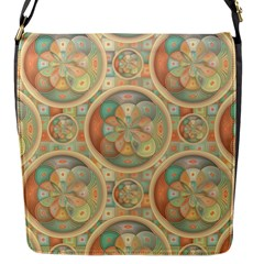 Complex Geometric Pattern Flap Messenger Bag (s) by linceazul