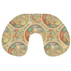 Complex Geometric Pattern Travel Neck Pillows by linceazul
