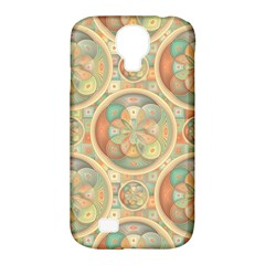 Complex Geometric Pattern Samsung Galaxy S4 Classic Hardshell Case (pc+silicone) by linceazul