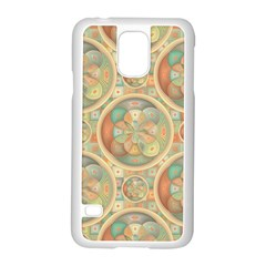 Complex Geometric Pattern Samsung Galaxy S5 Case (white) by linceazul
