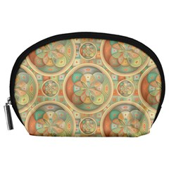 Complex Geometric Pattern Accessory Pouches (large)  by linceazul