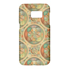 Complex Geometric Pattern Samsung Galaxy S7 Hardshell Case  by linceazul