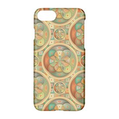 Complex Geometric Pattern Apple Iphone 7 Hardshell Case by linceazul