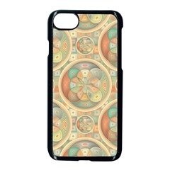 Complex Geometric Pattern Apple Iphone 7 Seamless Case (black) by linceazul