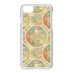 Complex Geometric Pattern Apple Iphone 7 Seamless Case (white) by linceazul