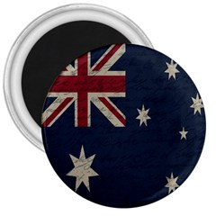Vintage Australian Flag 3  Magnets by ValentinaDesign