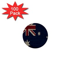 Vintage Australian Flag 1  Mini Buttons (100 Pack)  by ValentinaDesign