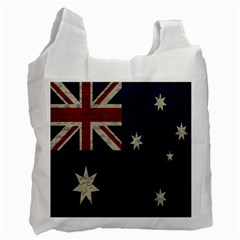 Vintage Australian Flag Recycle Bag (one Side) by ValentinaDesign