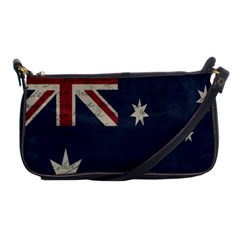 Vintage Australian Flag Shoulder Clutch Bags by ValentinaDesign