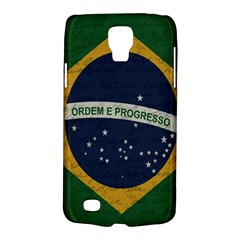 Vintage Flag   Brasil Galaxy S4 Active by ValentinaDesign