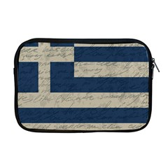 Vintage Flag   Greece Apple Macbook Pro 17  Zipper Case by ValentinaDesign