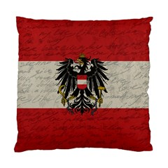 Vintage Flag   Austria Standard Cushion Case (two Sides) by ValentinaDesign