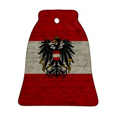 Vintage Flag   Austria Ornament (bell) by ValentinaDesign