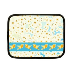 Birds And Daisies Netbook Case (small)