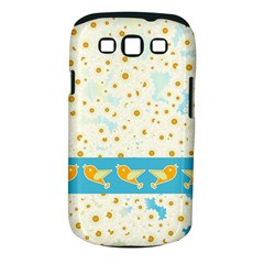 Birds And Daisies Samsung Galaxy S Iii Classic Hardshell Case (pc+silicone) by linceazul