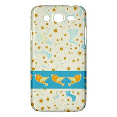 Birds And Daisies Samsung Galaxy Mega 5 8 I9152 Hardshell Case  by linceazul