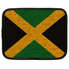 Vintage Flag   Jamaica Netbook Case (large) by ValentinaDesign