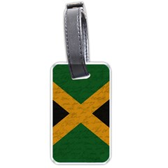 Vintage Flag   Jamaica Luggage Tags (two Sides) by ValentinaDesign