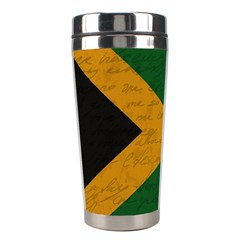 Vintage Flag   Jamaica Stainless Steel Travel Tumblers by ValentinaDesign