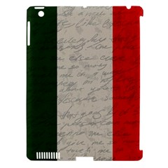 Vintage Flag   Italia Apple Ipad 3/4 Hardshell Case (compatible With Smart Cover) by ValentinaDesign