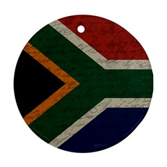 Vintage Flag   South Africa Ornament (round)