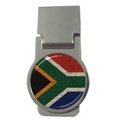 Vintage Flag   South Africa Money Clips (round)  by ValentinaDesign